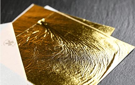 金沢の金箔